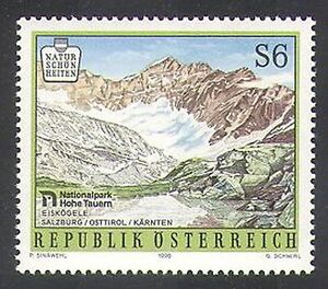 Austria-1996-National-Parks-Mountains-Mountain-Environment-1v-n37939