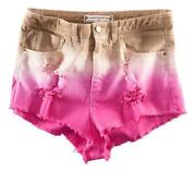 DIP Dye High Waisted Shorts