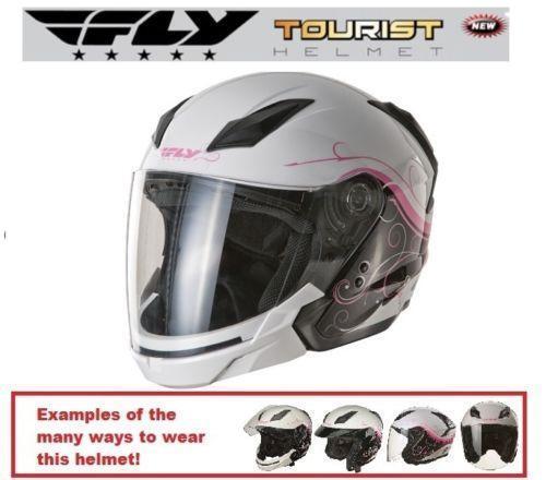 Pink vespa helmet