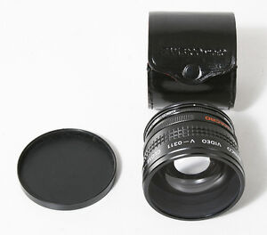 AMBICO VIDEO V-0311 CLOSE-UP WIDE VIEW LENS WITH CASE  CONDITION
