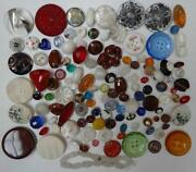 Glass Button Lot