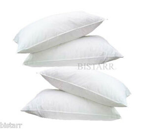 FOUR PACK DELUXE SUPER BOUNCE BACK PILLOWS - 4 BEDDING SET, 2 x PAIRS