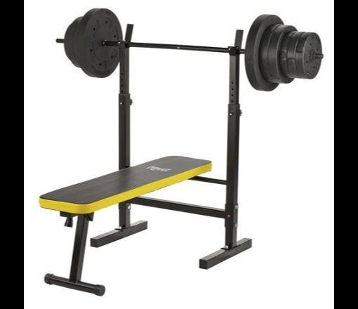 Everlast Folding Workout Bench With 50kg Weights New Never Used In Beccles Suffolk Gumtree