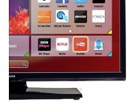 """Hitachi 24"""" inch LED TV/DVD Combo with 'OneForAll' remote control in excellent condition RRP £159.99"""