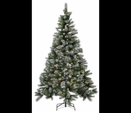 new style 2bf77 46d06 Prelit Snow Tipped Christmas Tree - 7ft | in Sherwood, Nottinghamshire |  Gumtree