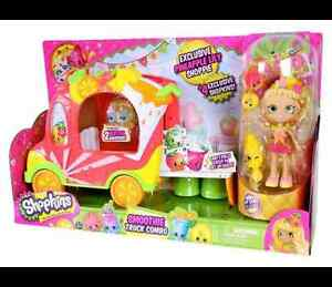 Shopkins Season 5 Smoothie Truck Combo- Pineahpple Lilly Shoppie