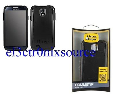 NEW Otterbox OEM Commuter Case w/Screen for Samsung Galaxy S IV 4 S4 BLACK on Rummage
