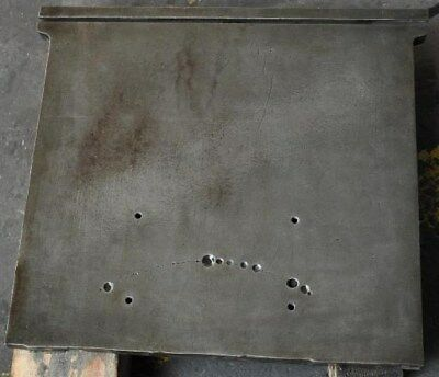 Cast Iron 22-12 X 22-34 Cored Plate With T-slot