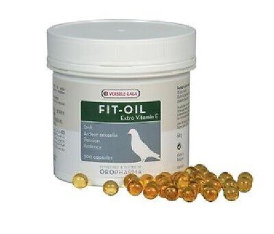Versele Laga Fit-Oil 300 Capsules Great During Breeding Period Pigeon Food Feed