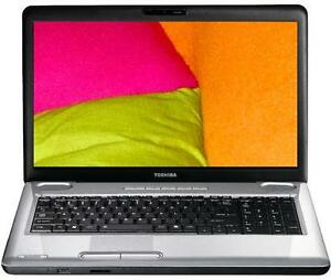 "Toshiba L550D 17"" Laptop Trade in's welcome"
