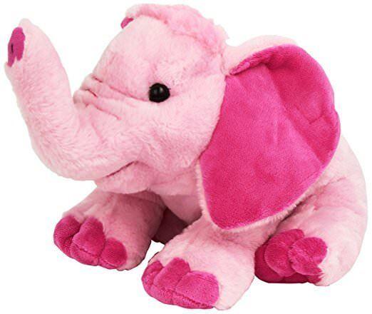 pink elephant soft plush toy kids stuffed