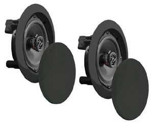 Pyle Home 200 Watts Dual 6.5-inch Speaker System - In-Wall - In-C