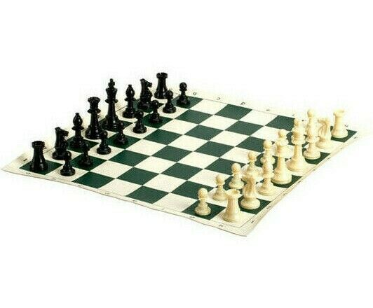 """20"""" Deluxe Professional Tournament Chess Set Travel Bag King"""