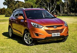 2013 Hyundai ix35 LM2 Active Atomic Orange 6 Speed Sports Automatic Wagon Medindie Walkerville Area Preview