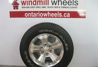 """18"""" Chevy Silverado Wheel & Tire Package"""