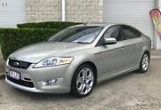 2009 Ford Mondeo MB Titanium Tdci Green 6 Speed Sports Automatic Hatchback Capalaba West Brisbane South East Preview