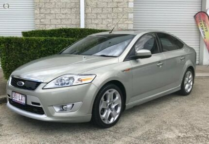 2009 Ford Mondeo MB Titanium Tdci Green 6 Speed Sports Automatic Hatchback
