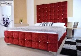 Fabric bed base