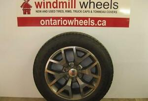 "20"" GMC Sierra ""All Terrain"" Package Alloy Wheels & Tires"