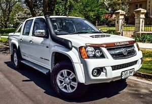 2011 Holden Colorado RC MY11 LT-R Crew Cab White 5 Speed Manual Utility Medindie Walkerville Area Preview