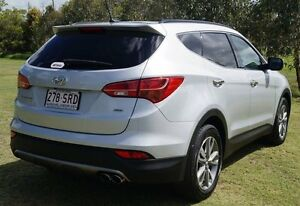 2012 Hyundai Santa Fe CM MY12 Elite Sleek Silver 6 Speed Sports Automatic Wagon Bundaberg West Bundaberg City Preview