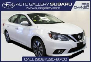 2017 Nissan Sentra SL | FULLY LOADED | LEATHER | PUSH BUTTON STA
