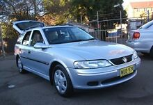 2000 Holden Vectra Jsii GL Silver 4 Speed Automatic Wagon Belmore Canterbury Area Preview