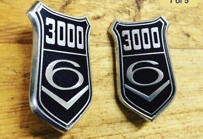 Cortina Taurus 1600 2000 Granada 2500 V6 1300 Shield Side Badge Gasket