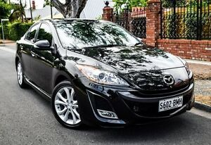 2011 Mazda 3 BL10L1 MY10 SP25 Activematic Black 5 Speed Sports Automatic Sedan Medindie Walkerville Area Preview