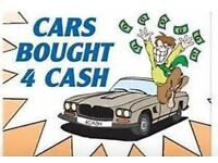 Wanted cars and vans for cash