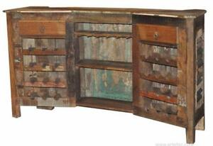 Antique Bar Counter in Reclaimed Wood on Special Discounted Pric