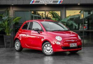 2013 Fiat 500 MY13 POP Red 5 Speed Manual Hatchback Bowen Hills Brisbane North East Preview