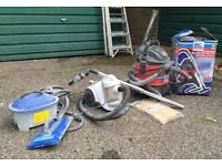 2 x Vacuum Cleaner + 1 x Wallpaper Stripper :: GOOD CONDITION