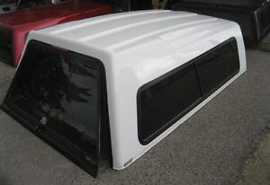 1999-2016 Ford Superduty 8' White ARE High Rise Truck cap