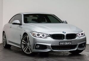 2014 BMW 435i F32 Silver 8 Speed Sports Automatic Coupe Rozelle Leichhardt Area Preview