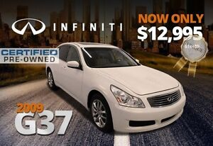 2009 Infiniti G37 Sedan Luxury
