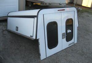 2004-2013 Chevrolet Colorado 6.5' White ARE DCU truck cap