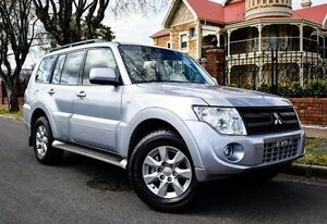 2013 Mitsubishi Pajero NW MY13 GLX-R Silver 5 Speed Sports Automatic Wagon Medindie Walkerville Area Preview