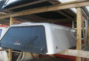 2007-2013 GMC Sierra 8' Silver Leer 180 midrise Truck cap
