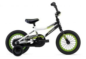 "Wanted: Small Boys Giant or Trek 16"" bike with training wheels"