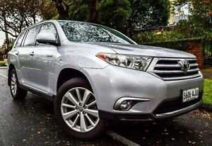 2010 Toyota Kluger GSU40R Grande 2WD Silver 5 Speed Sports Automatic Wagon Medindie Walkerville Area Preview