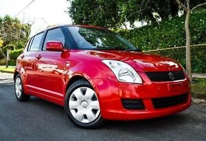 2009 Suzuki Swift RS415 Red 4 Speed Automatic Hatchback Medindie Walkerville Area Preview