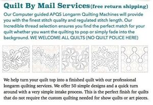 Let us finish your quilts Prince George British Columbia image 3