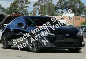 2012 Toyota 86 ZN6 GTS Black 6 Speed Manual Coupe West Hindmarsh Charles Sturt Area Preview