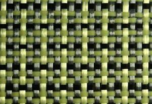 1m² Hybridgewebe Leinwand 180g/m² Aramidfaser Carbon-Kevlar-Gewebe HP-P180AC EP