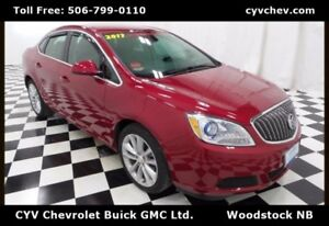 2017 Buick Verano CX - Remote Start, Rear Camera, XM & 18 Alloys