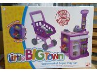 Little Big Town Children Supermarket Super Play Set