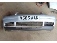 Mk4 golf front bumper. satin silver , Lb7z