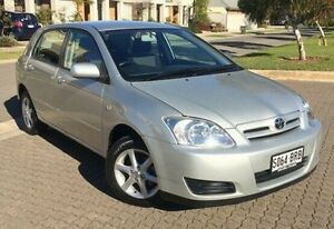 2005 Toyota Corolla ZZE122R 5Y Conquest Silver 4 Speed Automatic Hatchback Ingle Farm Salisbury Area Preview