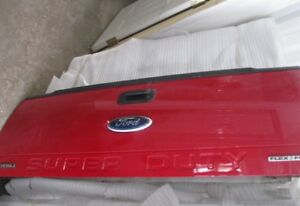 1999-2016 Ford Superduty Red Take Off Tailgate